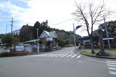 英彦山正面参道へ向かう道