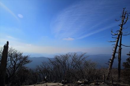 英彦山中岳からの景色