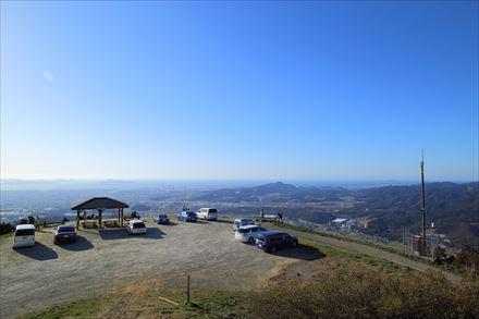 米ノ山展望台全景
