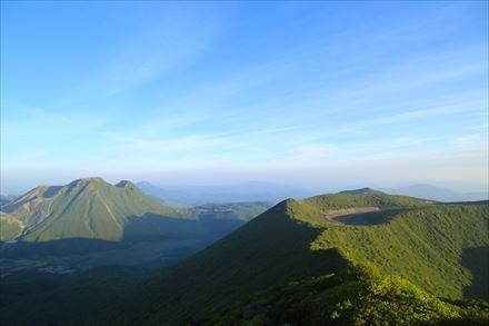 大船山からの景色