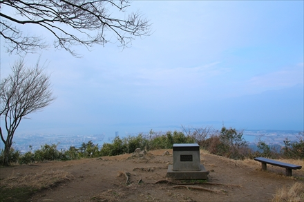 立花山山頂