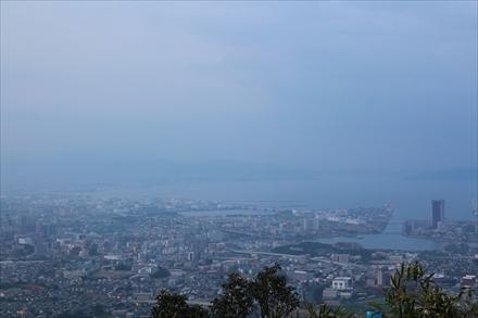 立花山山頂からの景色