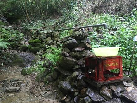 立花山の水場