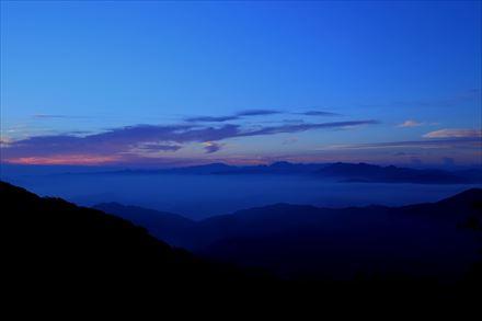 宝満山朝駆けからの雲海