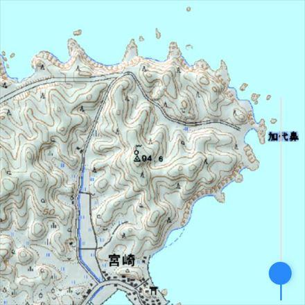 宗像大島の一等三角点