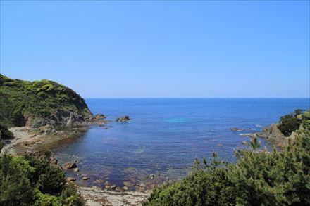 外海側の景色