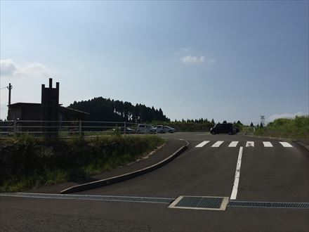 樫原湿原駐車場
