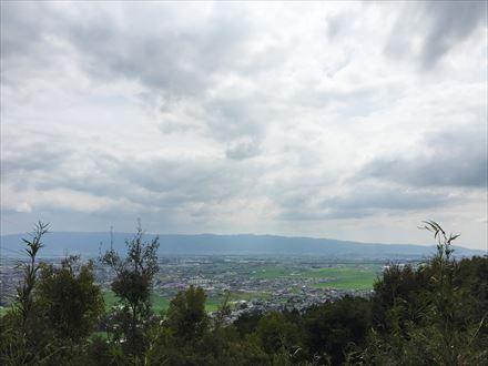小鷹城山からの景色