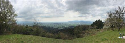 目配山山頂からの景色(パノラマ)