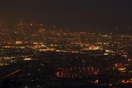 米ノ山からの夜景
