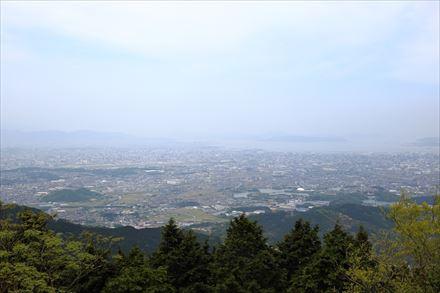 米ノ山からの景色