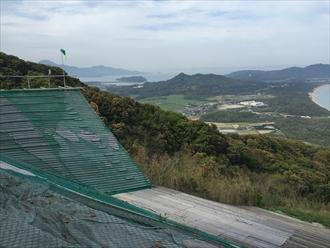 火山グライダー滑走場
