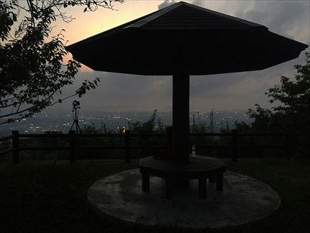 岳城山展望台