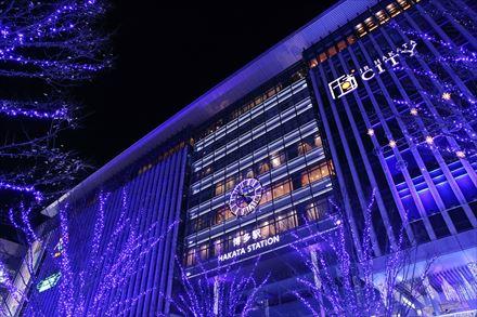 JR HAKATA CITYのイルミネーション