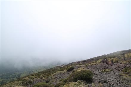 また霧が包む