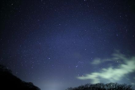 牧ノ戸峠の星空
