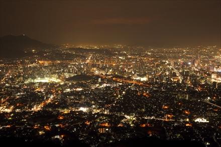 小文字山の夜景