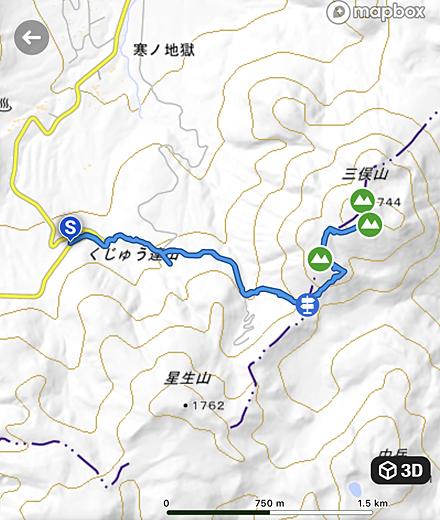 大曲〜三俣山