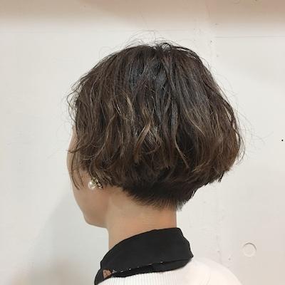 代官山美容室美容院ALエクセルパティエンスショートボブボブトリートメント縮毛矯正