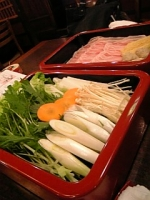 お野菜とお肉