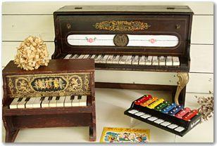 トイピアノ シェーンハット アンティーク