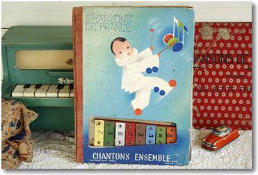 フランス アンティーク 楽譜