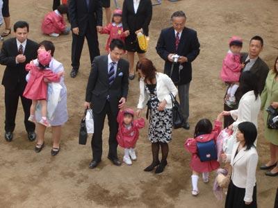 式 服装 入園 幼稚園
