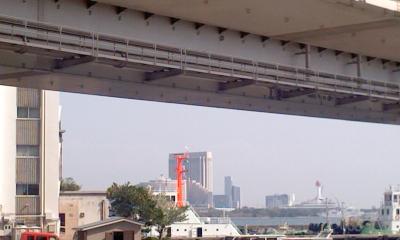 橋の手前2