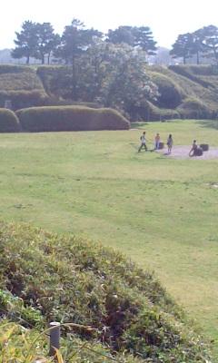 公園の中1