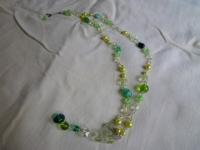 グリーンのネックレス2