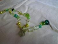 グリーンのネックレス3