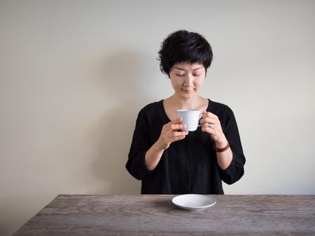 飯田万綾 コーヒーカップ
