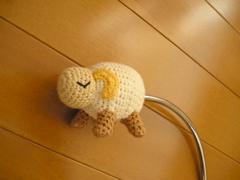 よく見ると、羊なの