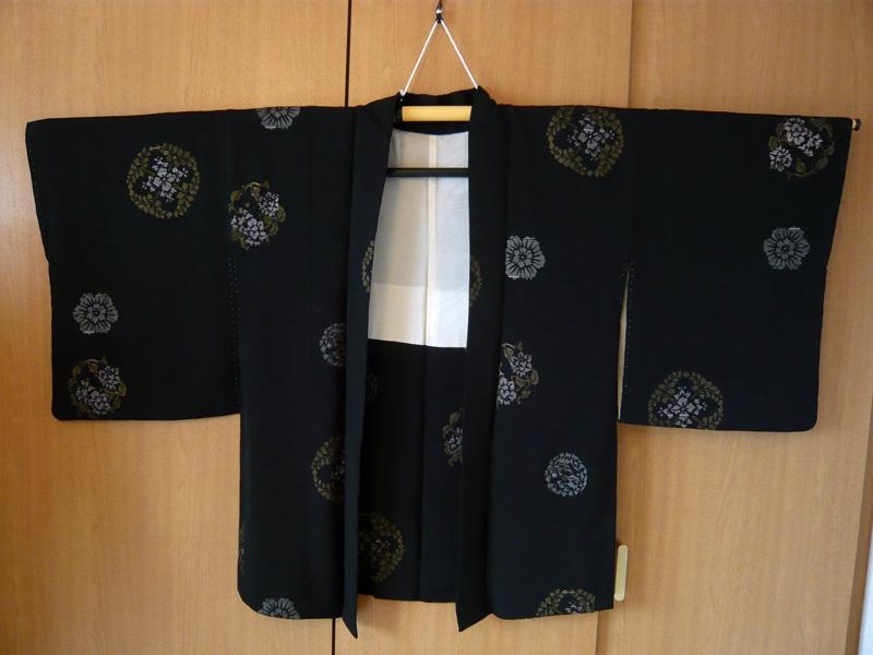 雪輪模様の羽織