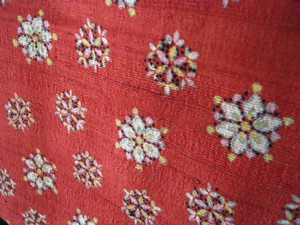 生紬の羽織