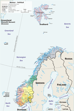 Map-Norway