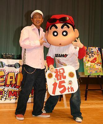 クレヨンしんちゃん&SEAMO