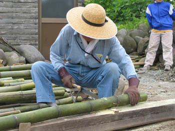 竹切りおじいちゃん