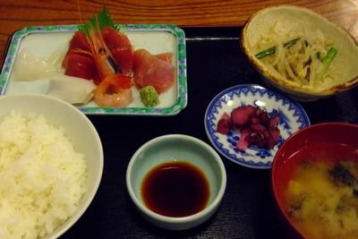 広浦の刺身定食
