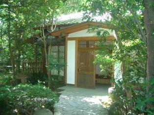 緑水庵茶室