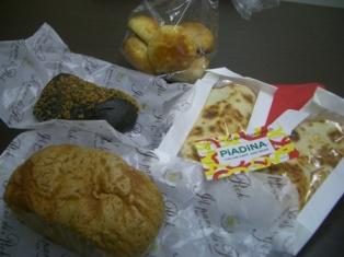 藤崎イタリアフェア ピアディーナとPeckのパン