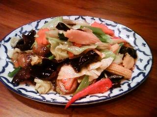 仙台パルコ ティーヌン 野菜のオイスターソース炒め