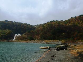 鳴子温泉の紅葉 潟沼
