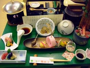 鳴子温泉 吟の庄 夕食