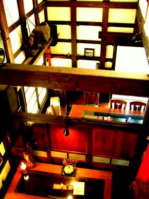登米 うなぎ割烹東海亭 蔵の内部