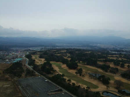 仙台大観音からの眺め