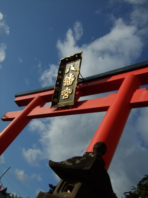 仙台のお正月 大崎八幡宮