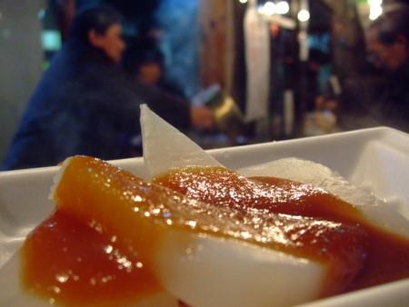 仙台 大崎八幡宮 どんと祭 庄子屋醤油店のみそおでん