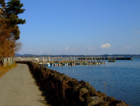 松島海岸 細い道