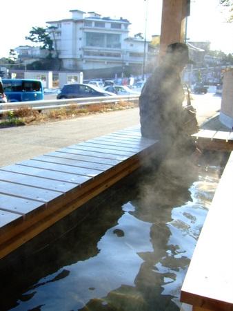 松島 ホテル海風土 足湯